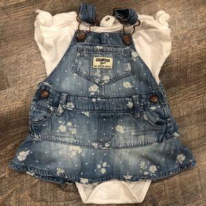 Osh Kosh Baby Girl Dress 6 M.